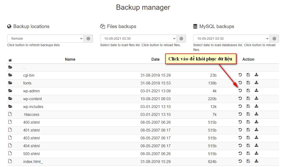 Backup Manager 3