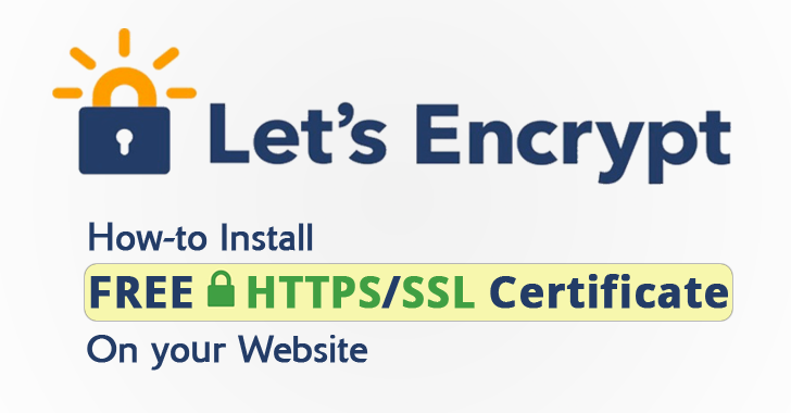 How to Install Lets Encrypt SSL Certificate