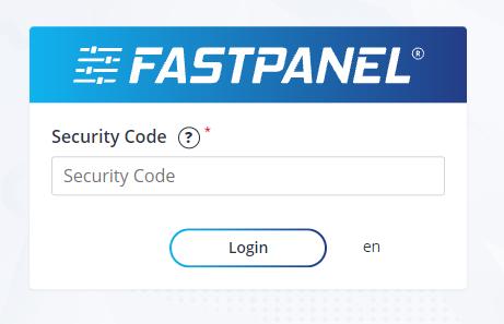 enable 2fa fastpanel 3